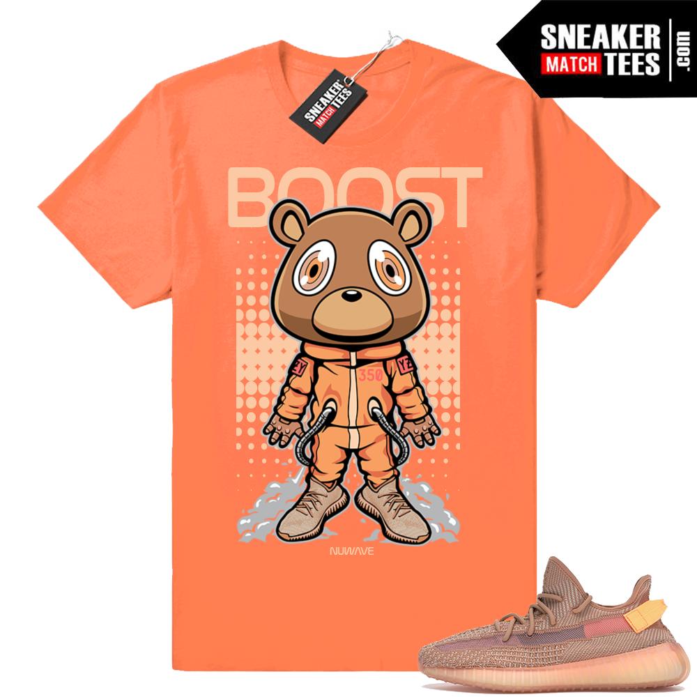 Yeezy Boost 350 matching Clay shirt