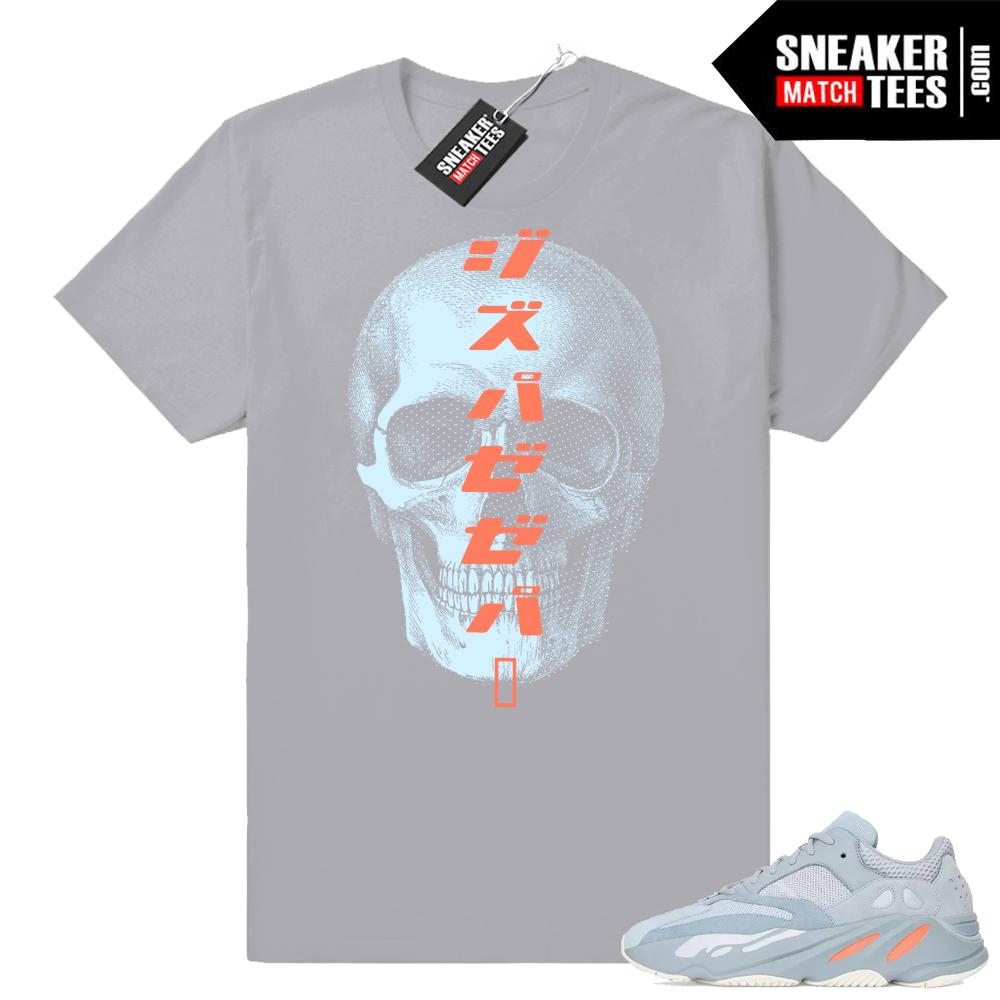 Yeezy Boost 700 inertia sneaker tee shirt
