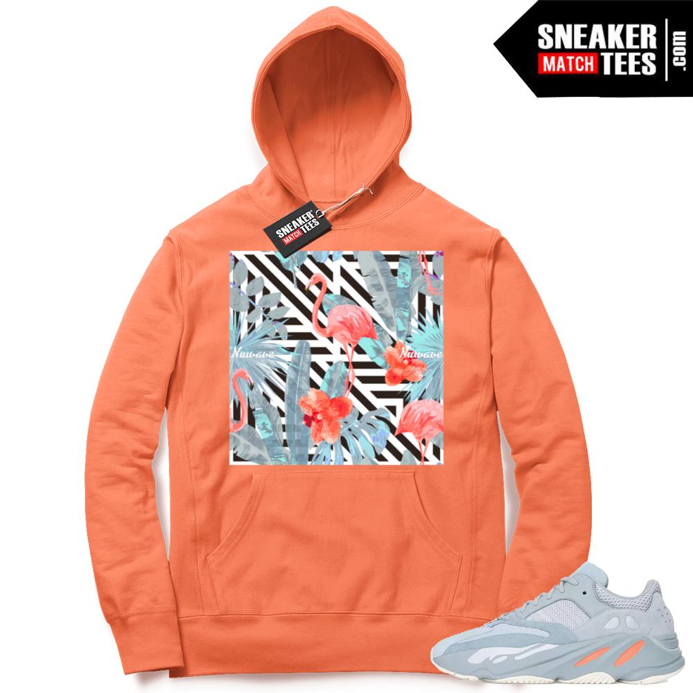Yeezy Boost 700 matching Inertia hoodies