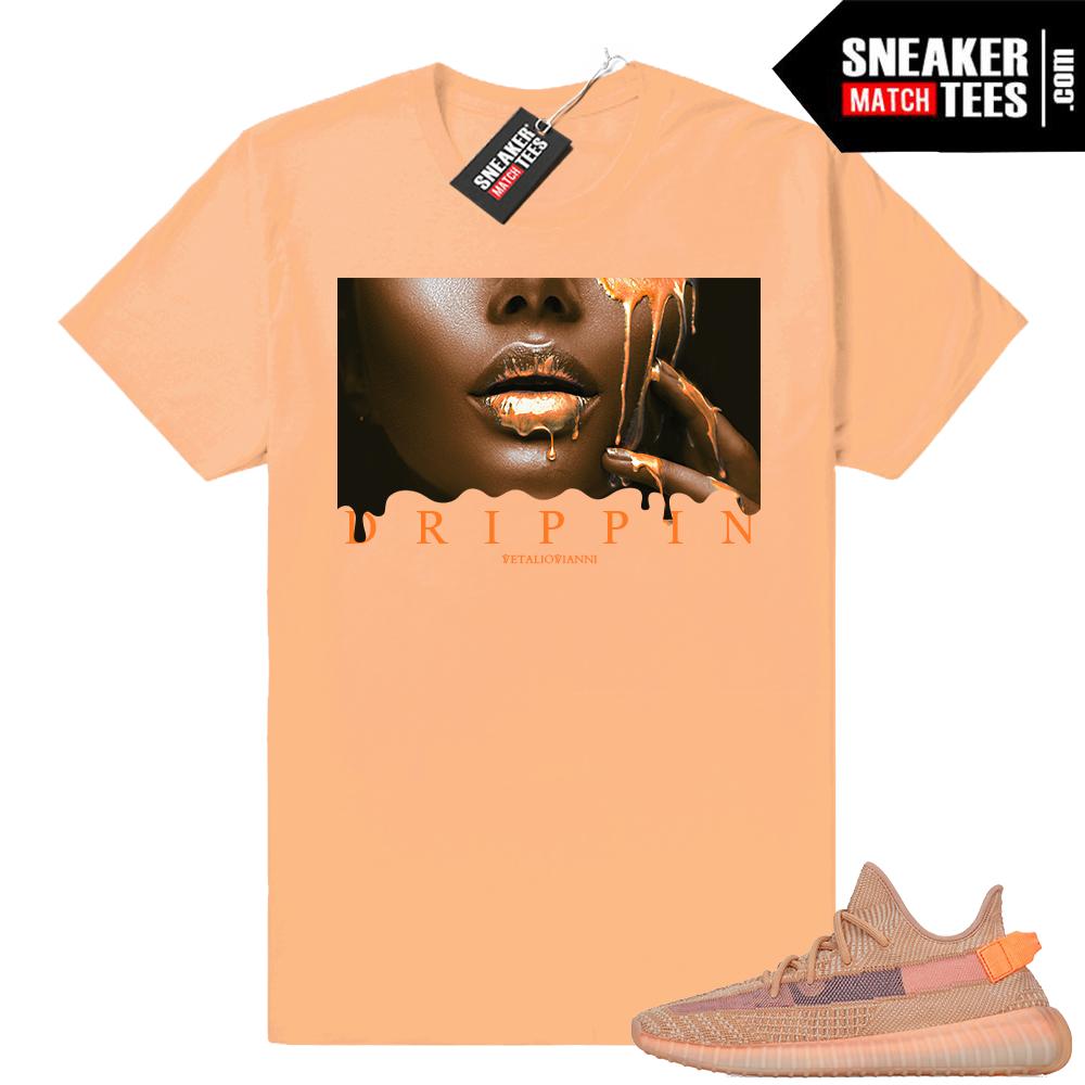 Yeezy Clay 350 Drippin T-shirt
