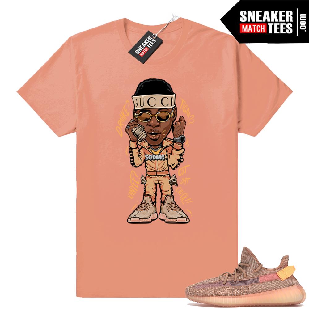Yeezy Clay 350 Soulja Boy t-shirt