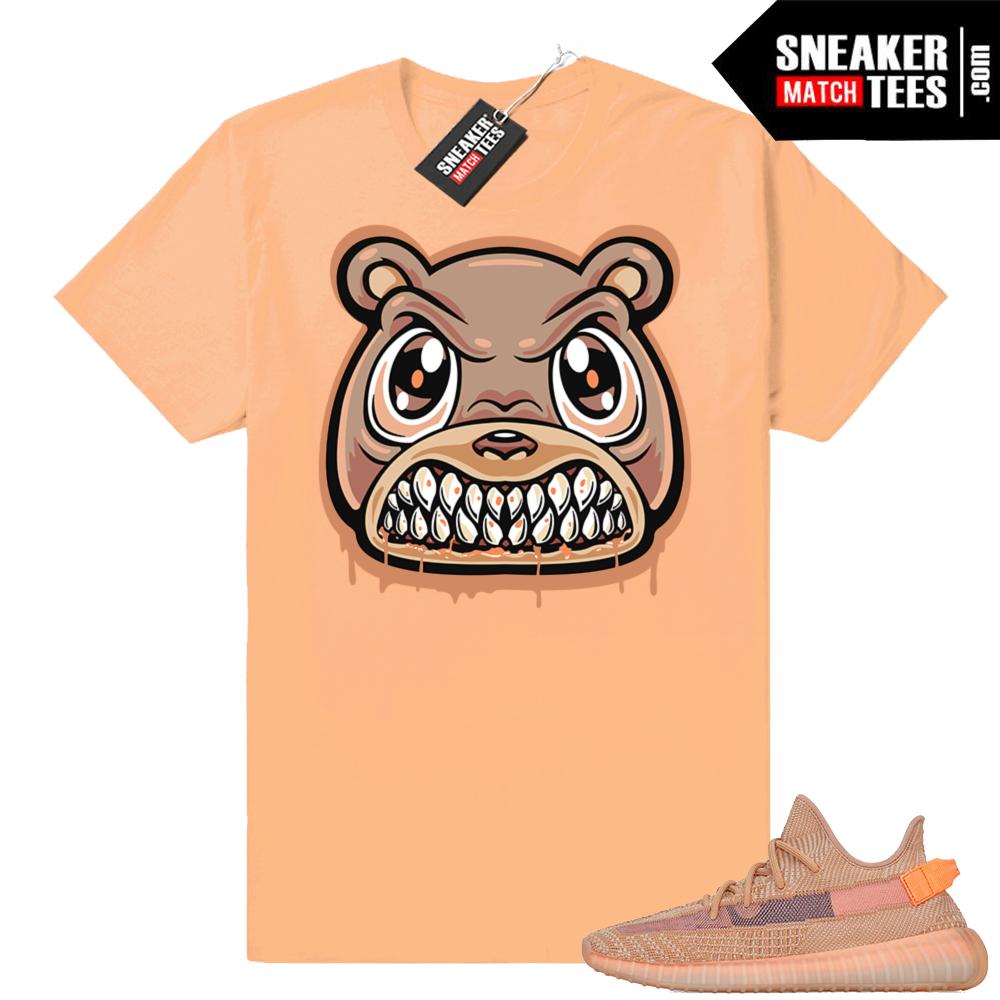 Yeezy Clay Angry Bear Drip tee