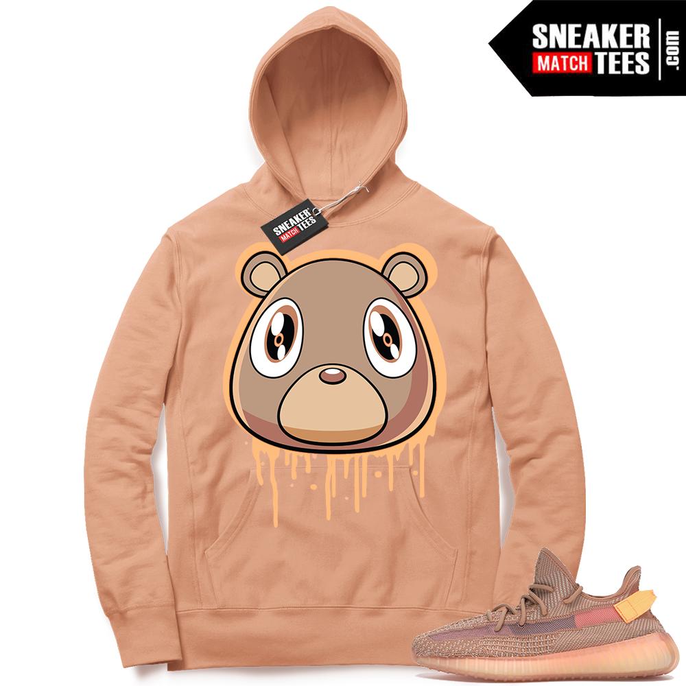 Yeezy Clay Bear Drip Hoodie