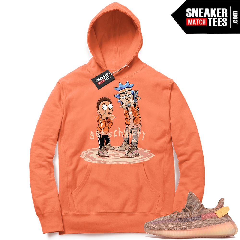 Yeezy Clay Hoodie to match