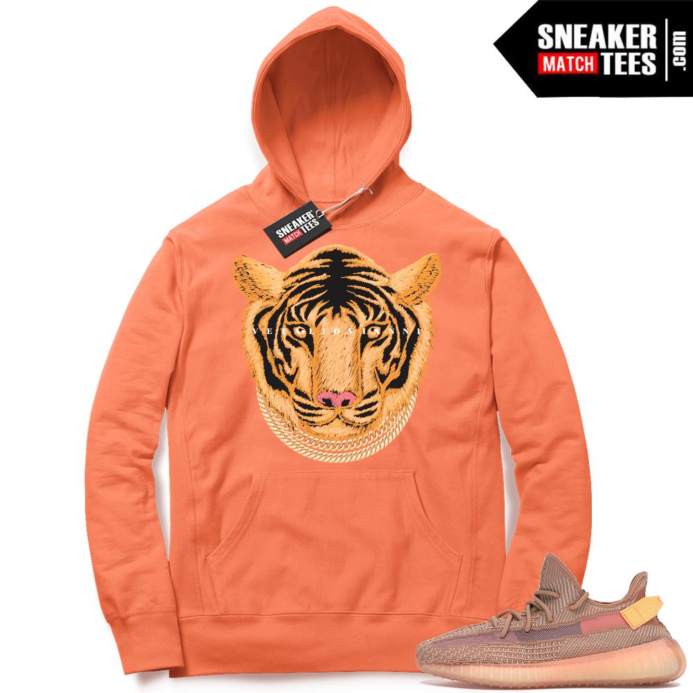 Yeezy Clay Hoodies Match Sneakers