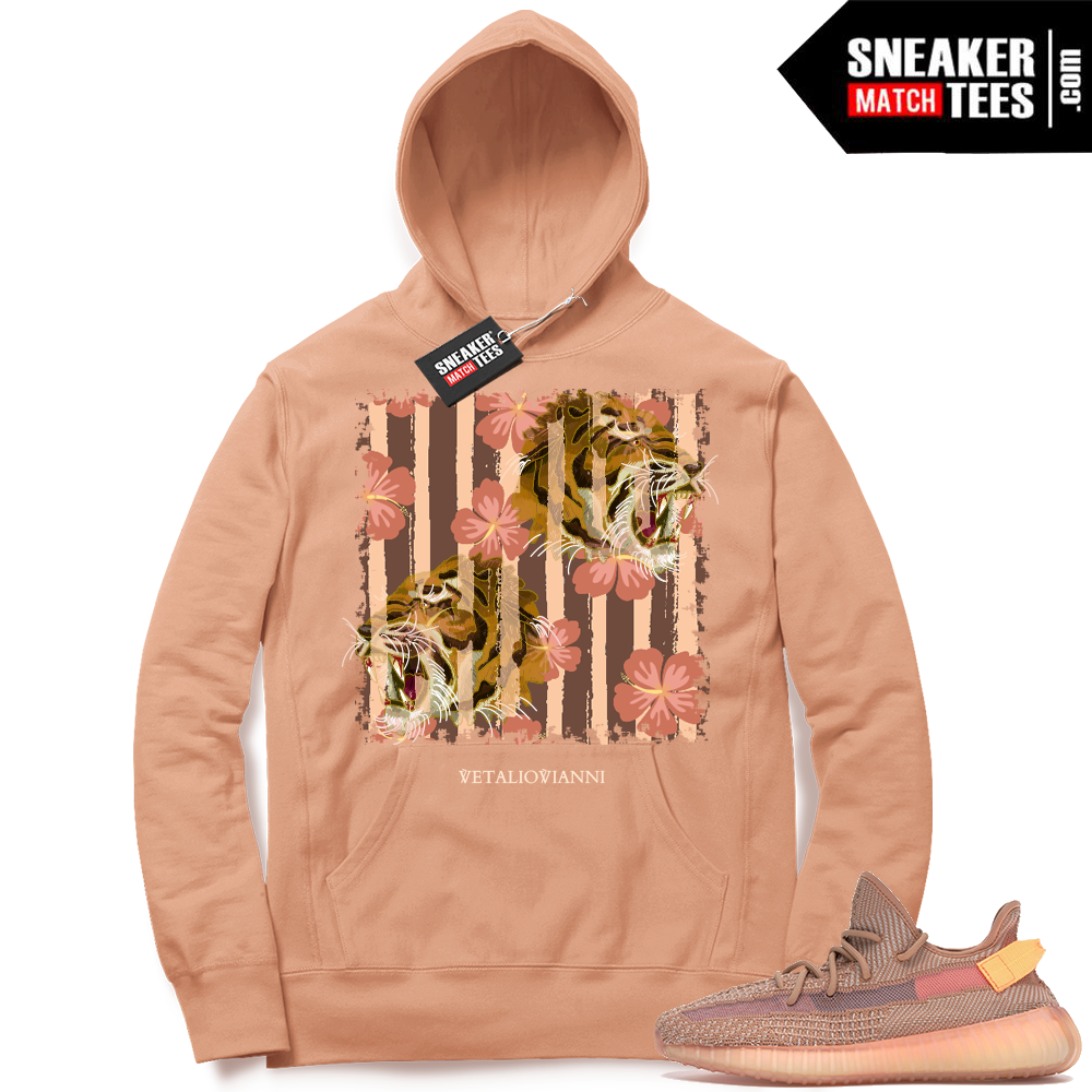 Yeezy Clay Match hoodie