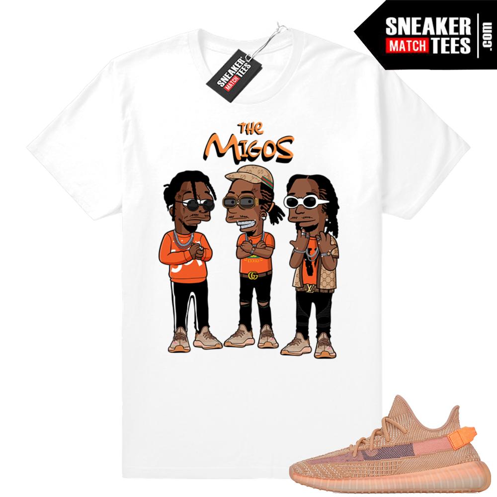 Yeezy Clay Migos T-shirt