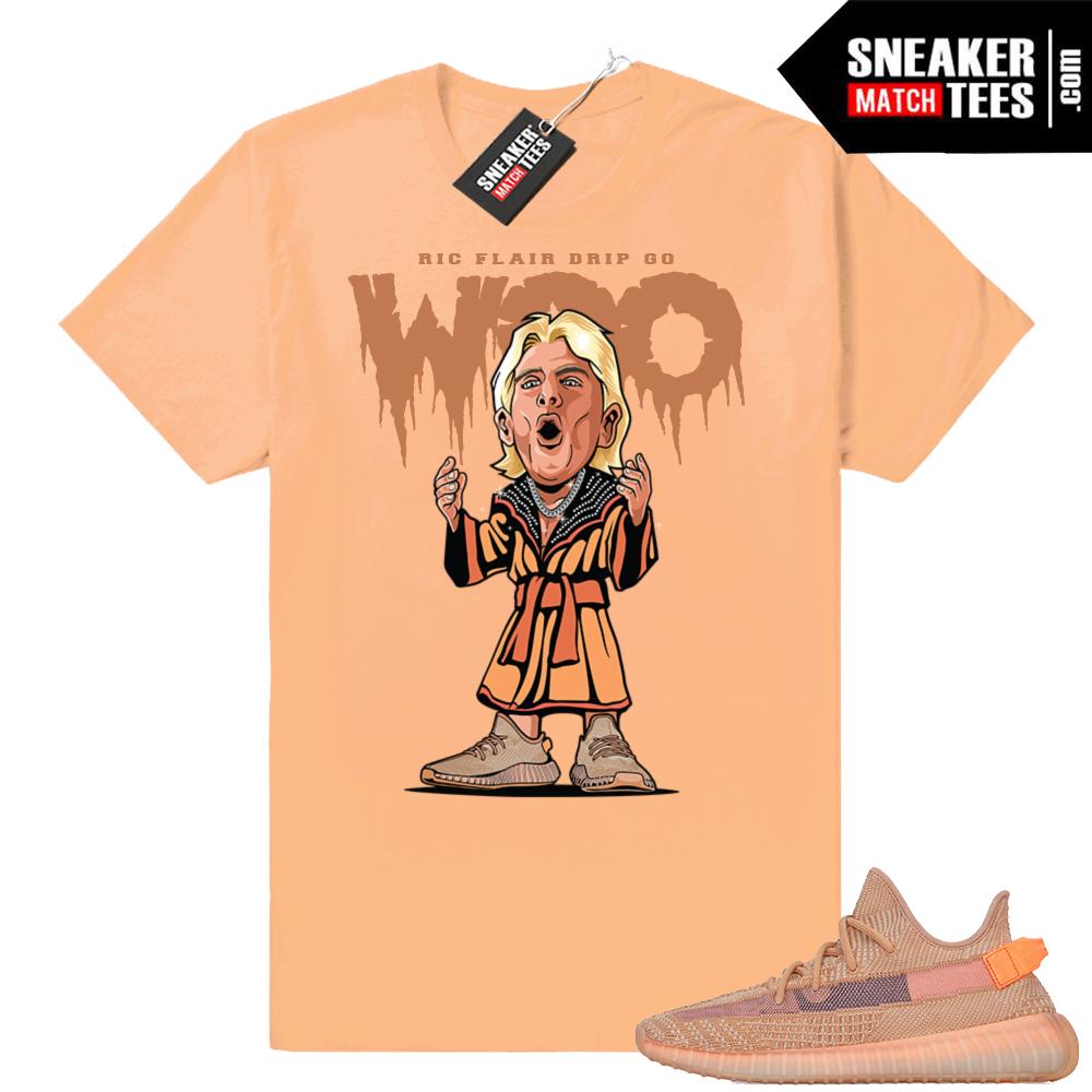 Yeezy Clay Ric Flair Drip T-shirt