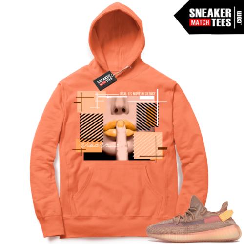 Yeezy Clay Sneaker Hoodie Match