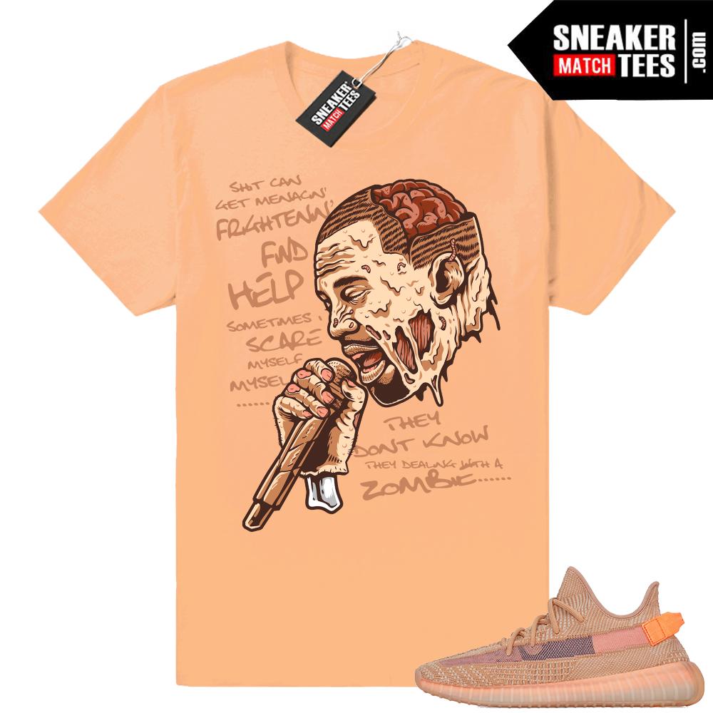 Yeezy Clay Sneaker t-shirt match