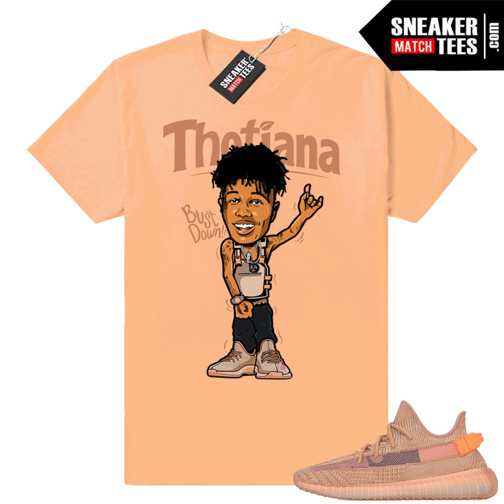 Yeezy Clay Thotiana Tee shirt