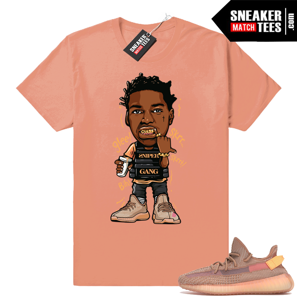Yeezy Clay match Graphic tee