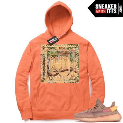 Yeezy Clay matching designer clothing