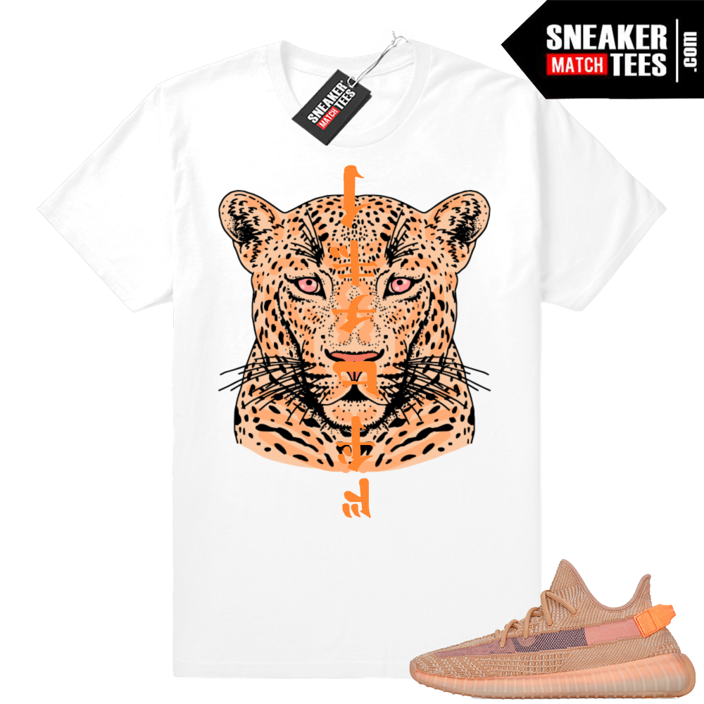 Yeezy Clay matching graphic tees