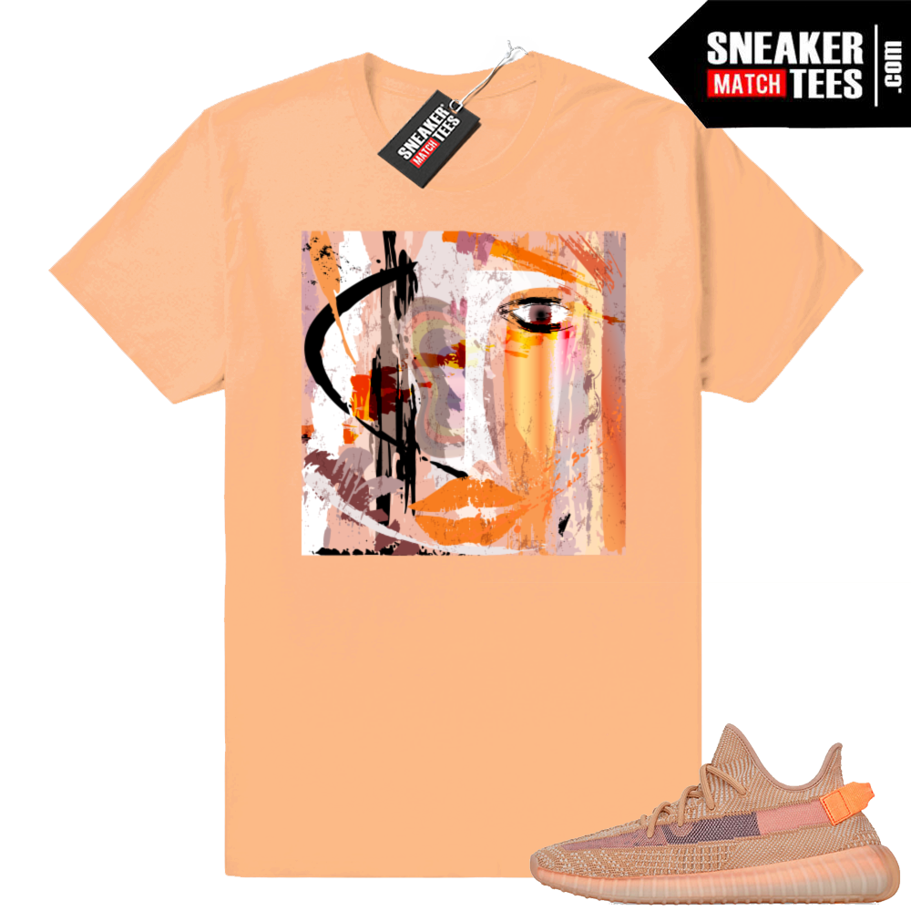 Yeezy Clay matching sneaker clothing