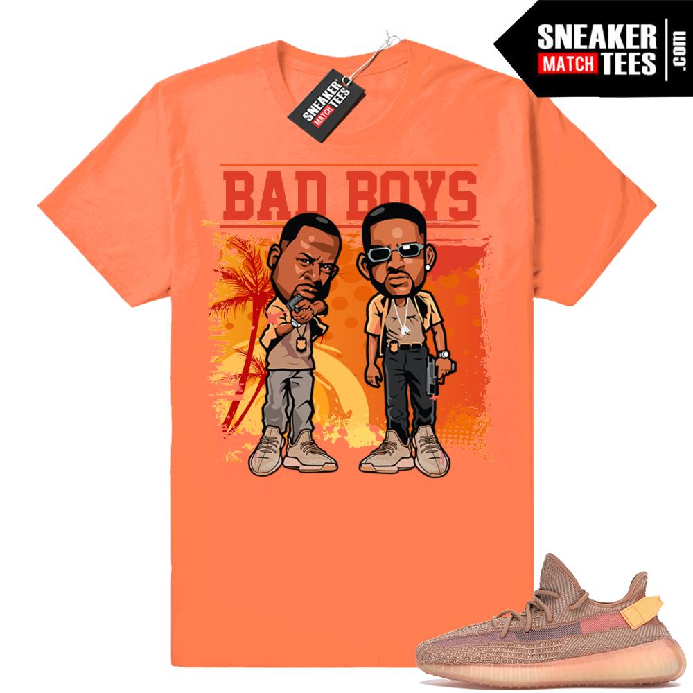 Yeezy Clay matching sneaker tees