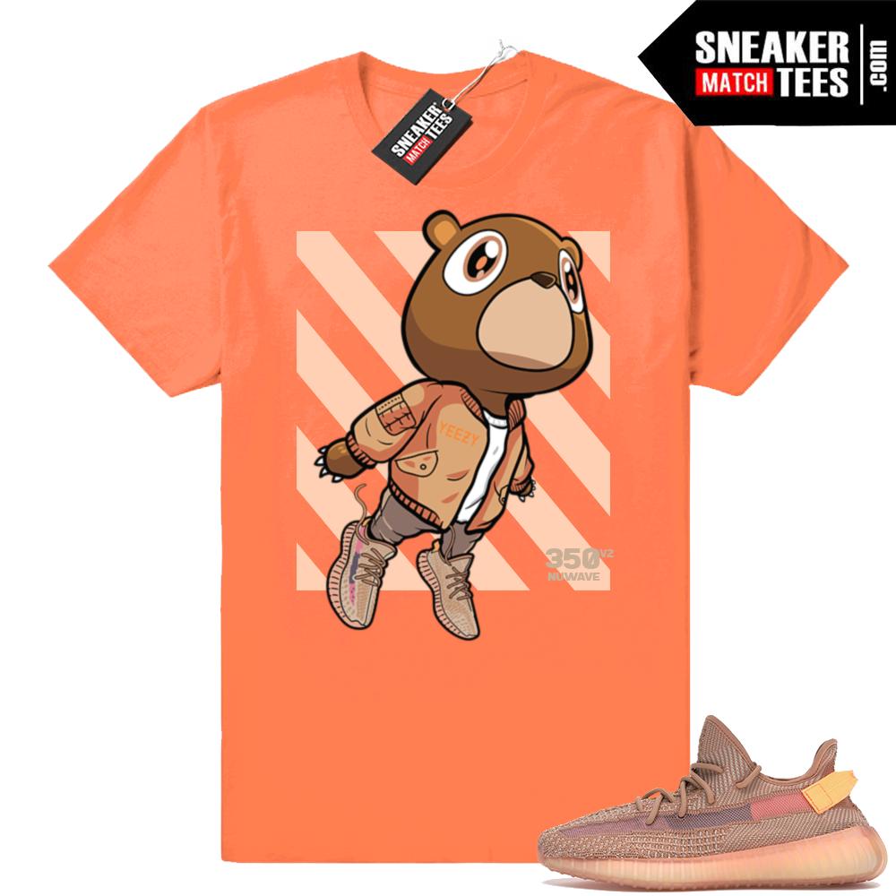 Yeezy Clay shirt match