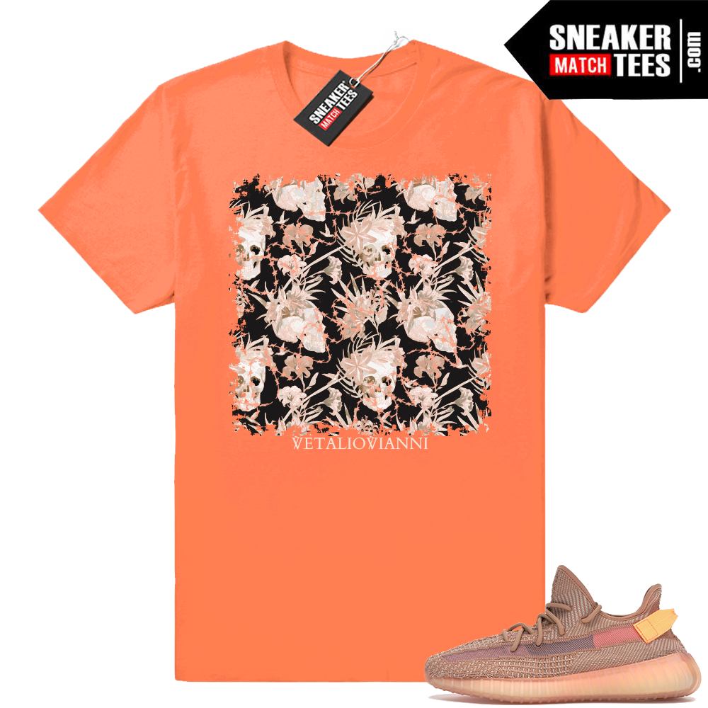 Yeezy Clay shirts match sneakers