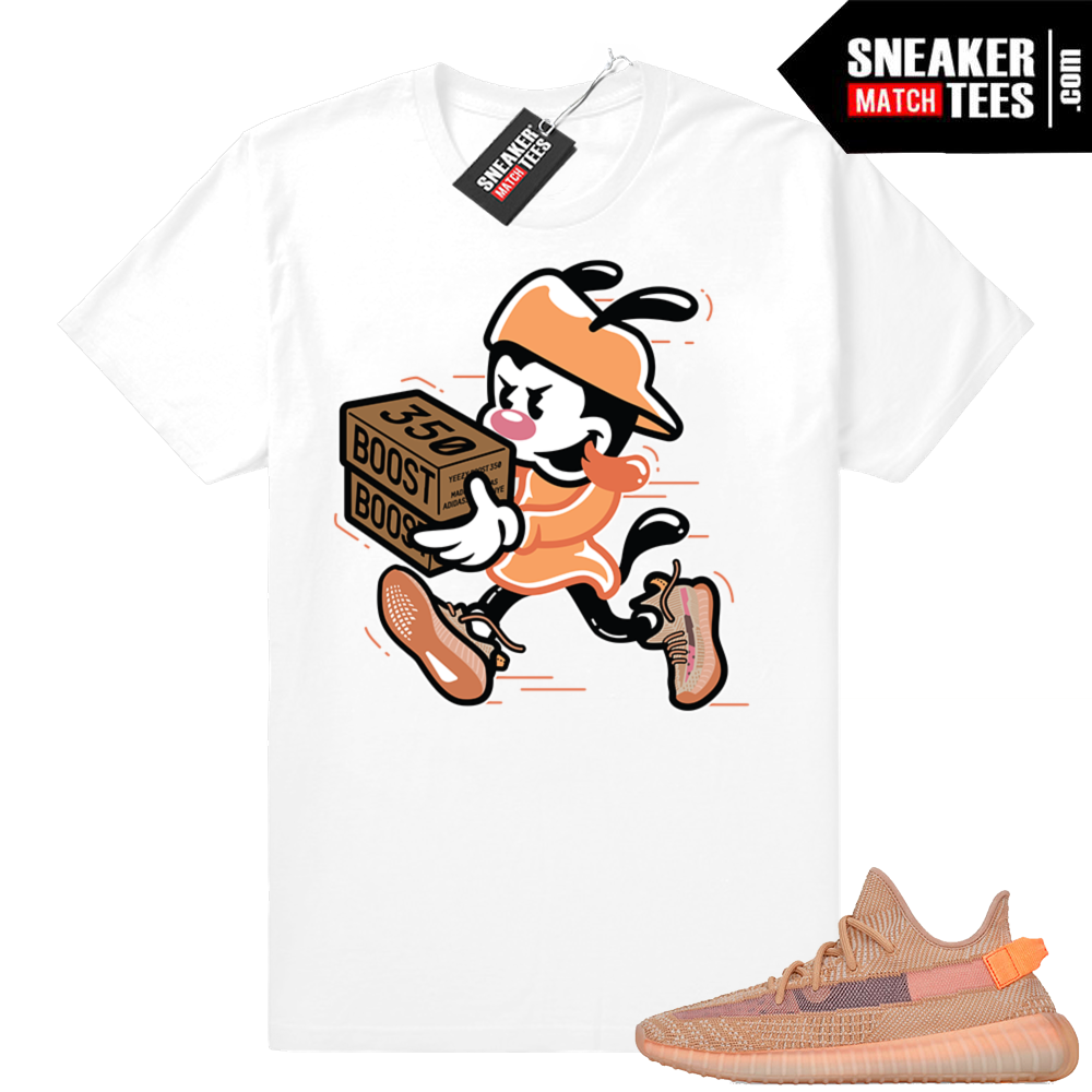 Yeezy Clay shoes sneaker tees