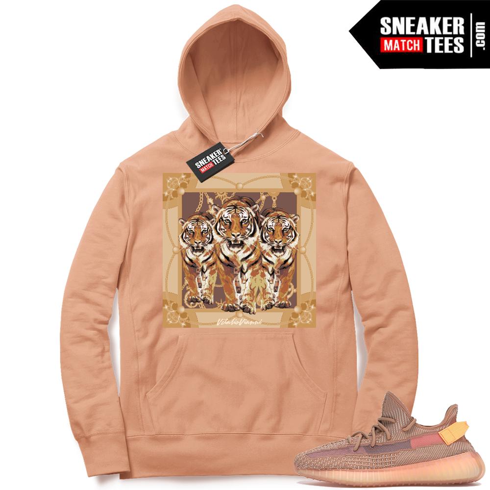 Yeezy Clay sneaker match Designer Hoodie