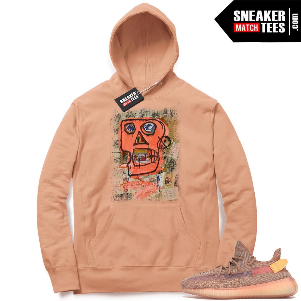 Yeezy Clay sneaker match hoodie