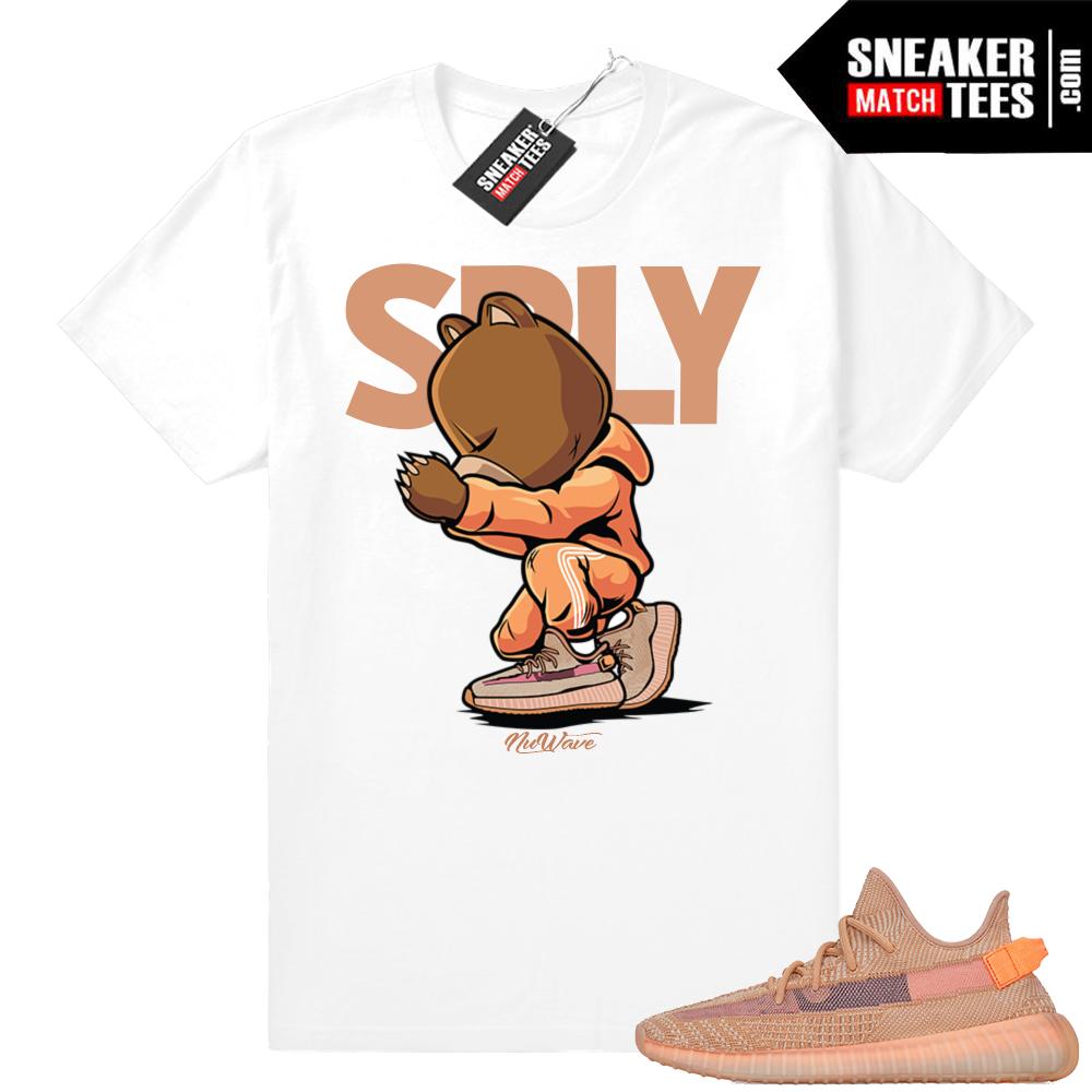 Yeezy Clay sneaker matching tees