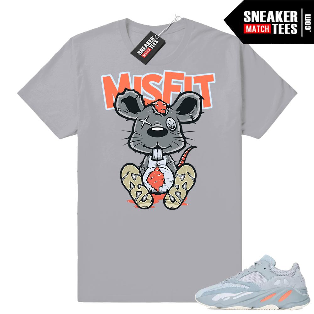 Yeezy Inertia 700 sneaker tee shirt
