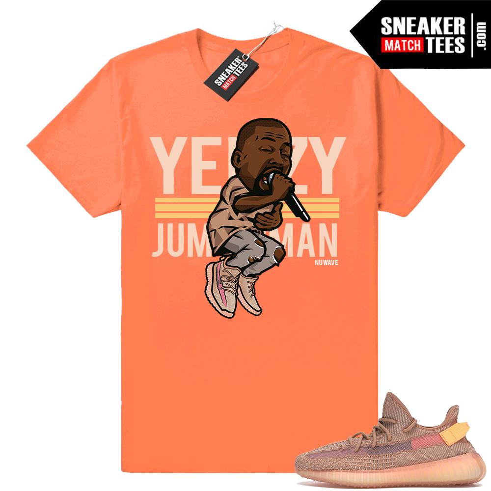 Yeezy Over Jumpman Clay 350 tee