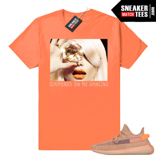 Yeezy Sneaker tees match Clay Yeezy