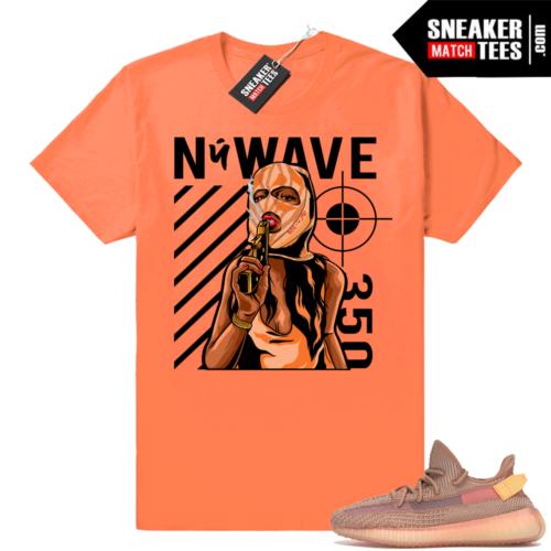 Yeezy boost 350 Clay designer t-shirt