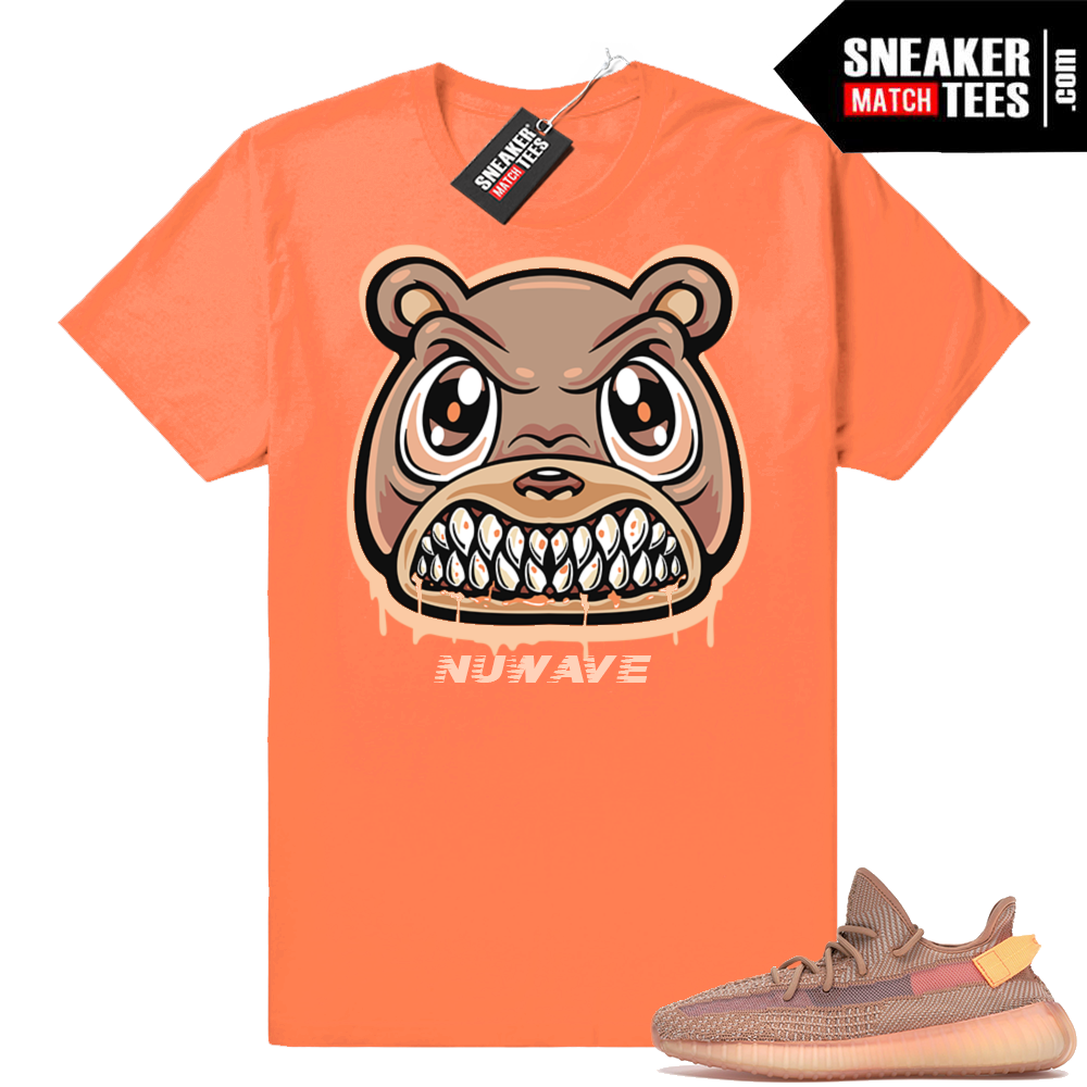 Yeezy boost 350 Clay sneaker shirt