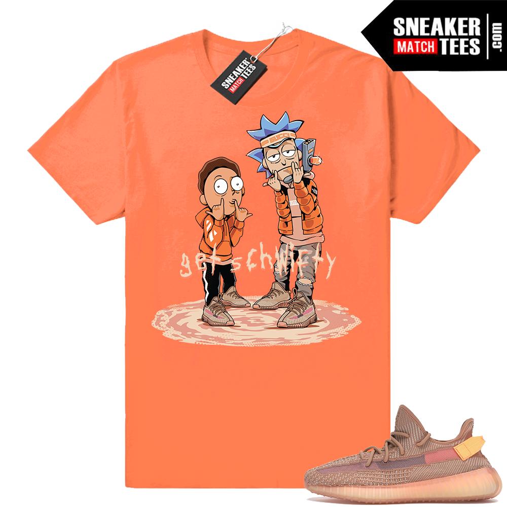 Yeezy boost 350 V2 Clay tee shirt