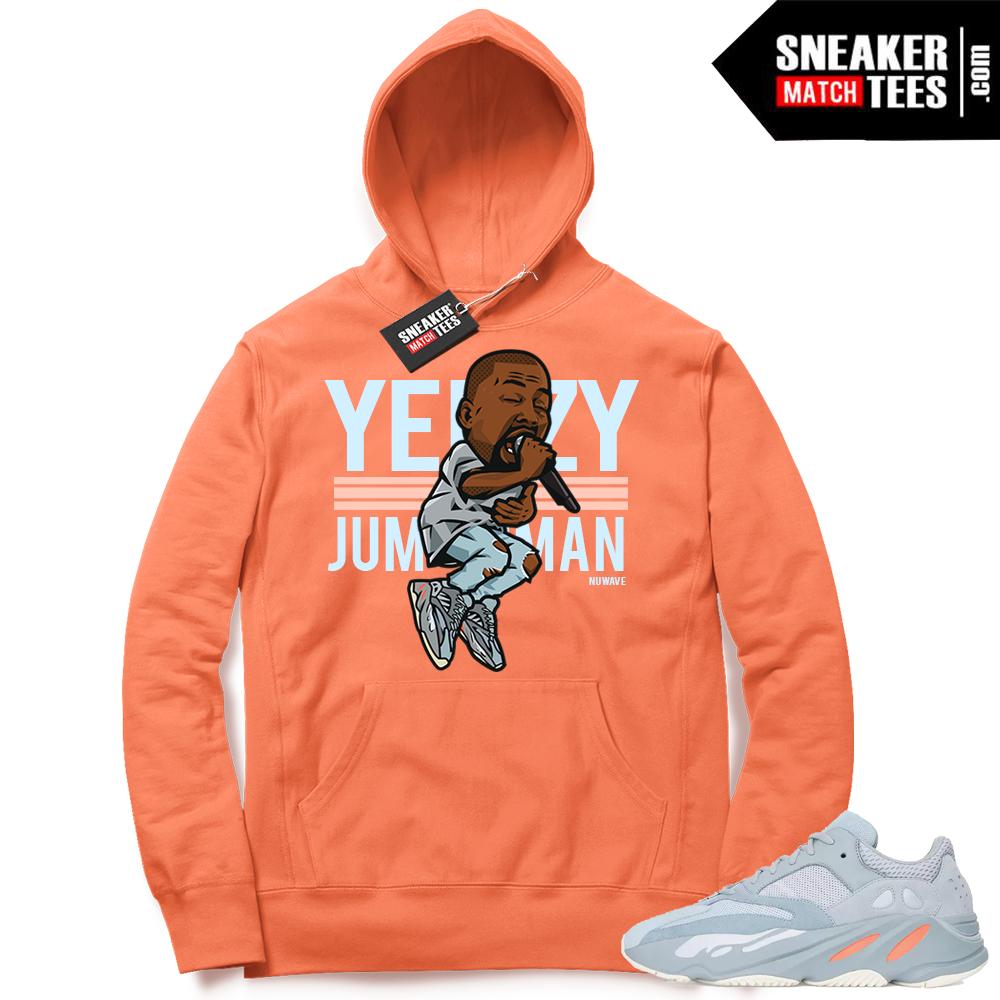 Yeezy boost 700 Inertia Yeezy over Jumpman Hoodie