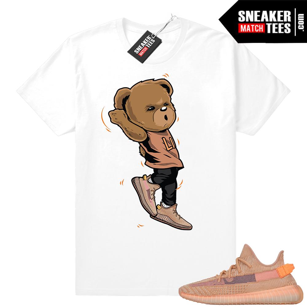 Yeezy sneaker match Clay 350 V2