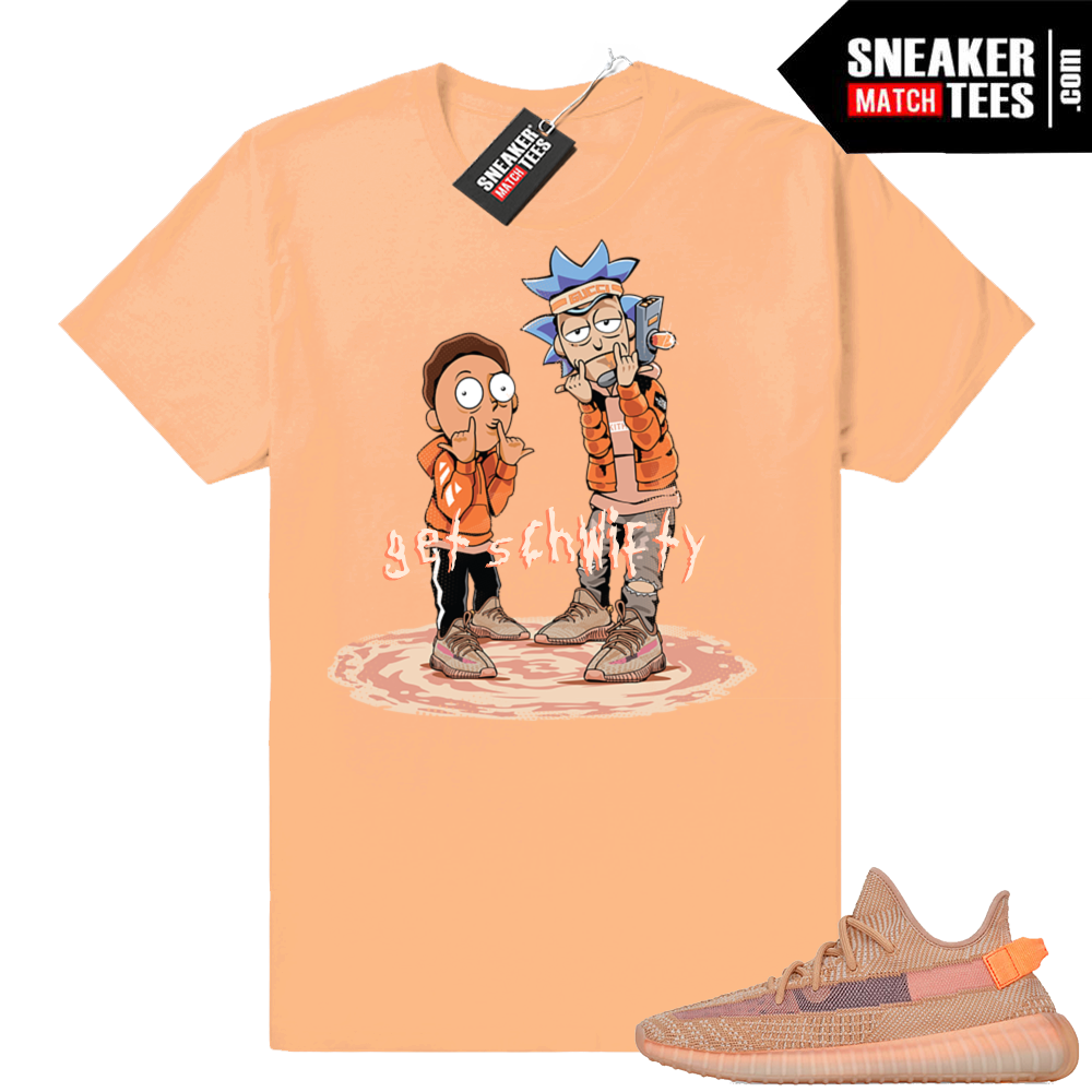 Yeezy sneaker match Clay shirt