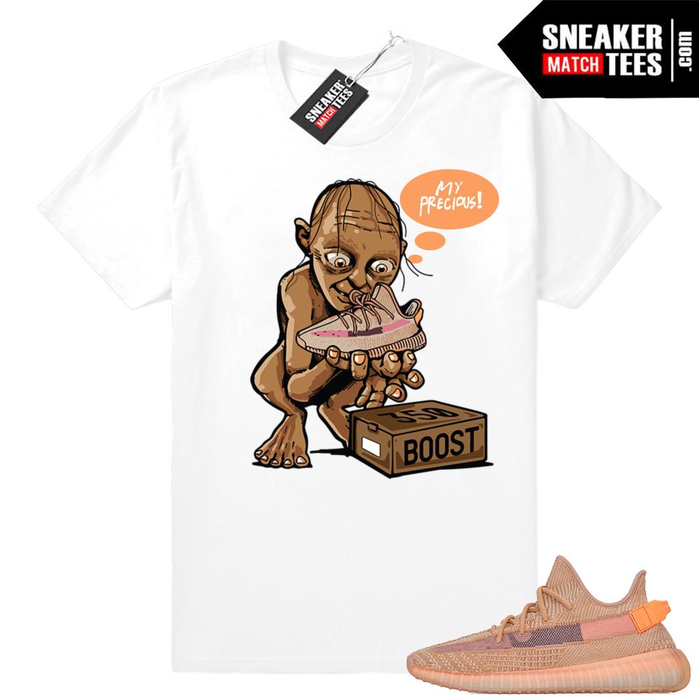 Yeezy sneaker match shirt