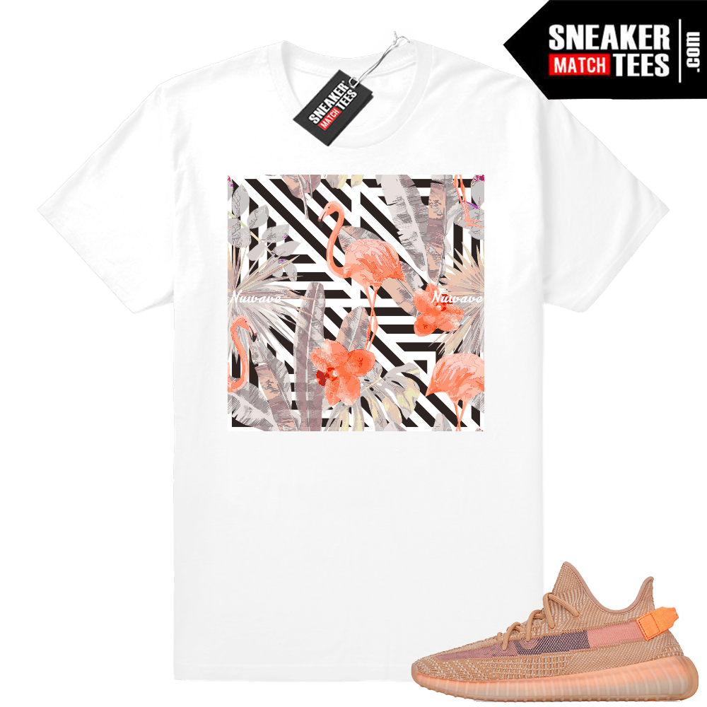 Yeezy tees sneaker match Clay shirts