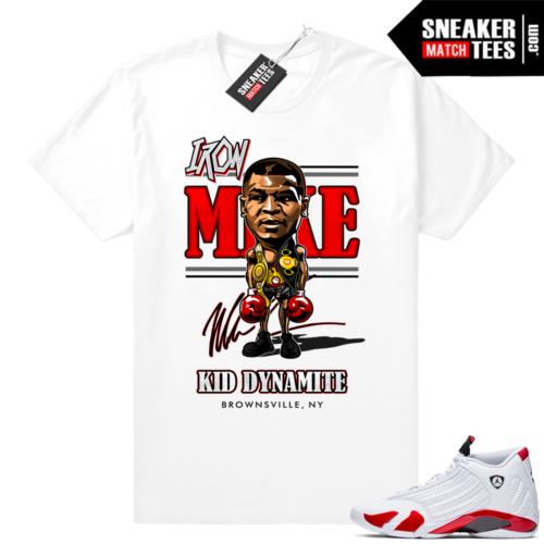 Air Jordan 14 Candy Cane shirts