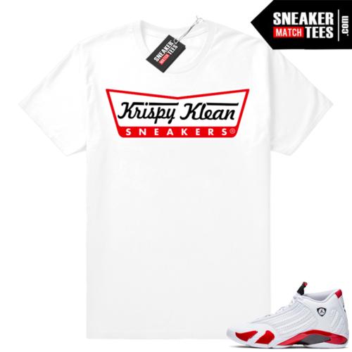 Air Jordan 14 shirts Candy Cane