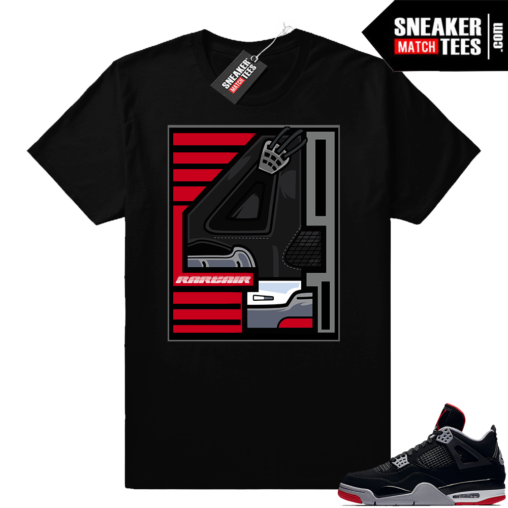 Air Jordan 4 Bred maching outfit