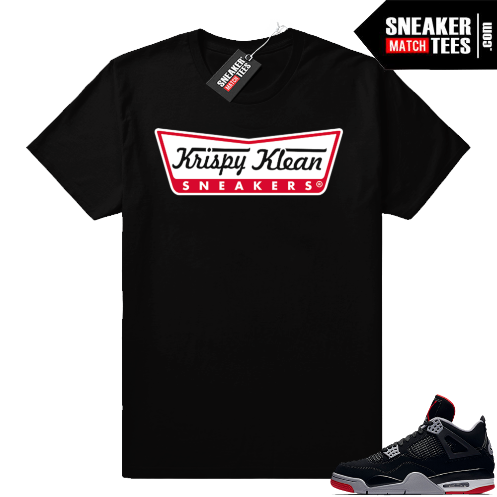 Air Jordan retro 4 sneaker shirt match