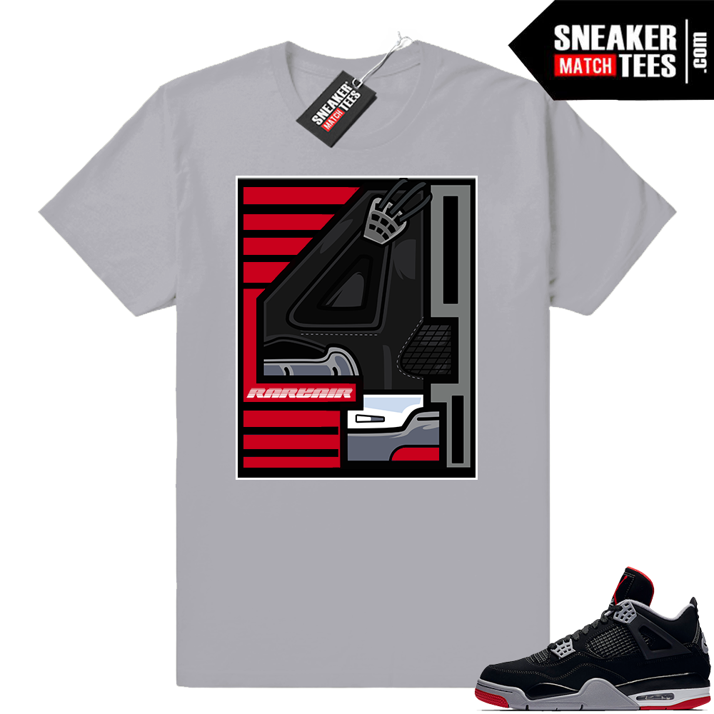 Air Jordan tees Bred 4