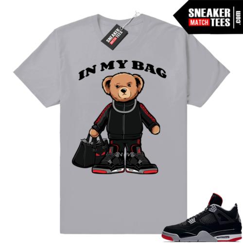 Bred 4s shirt match