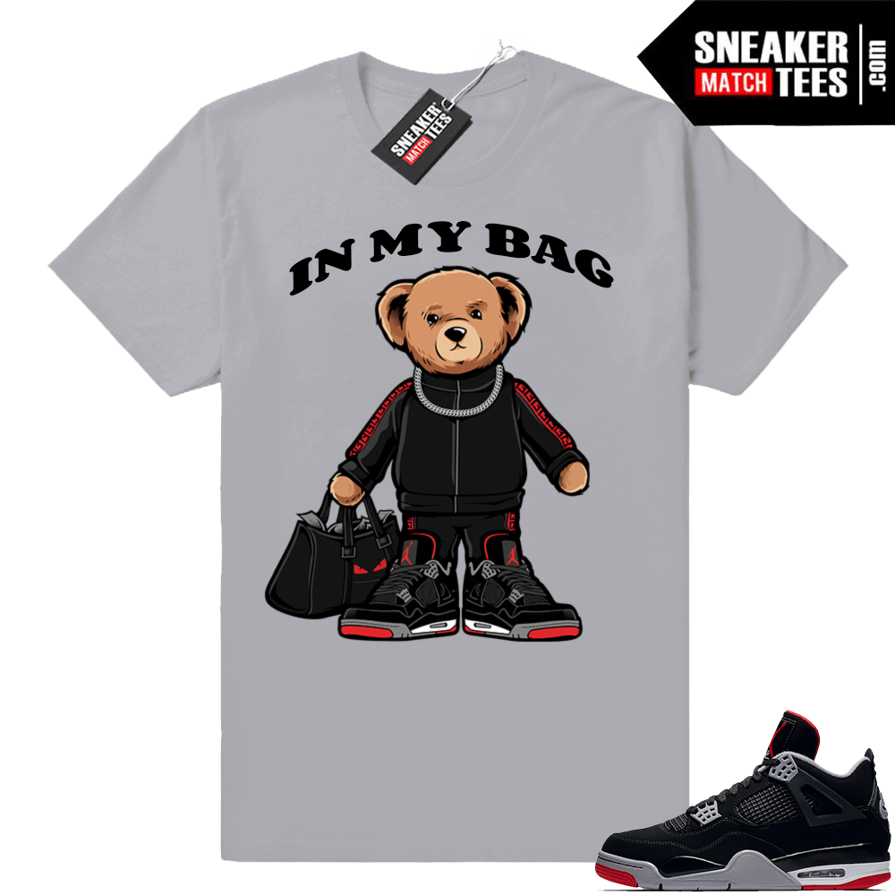 Bred 4s shirt match