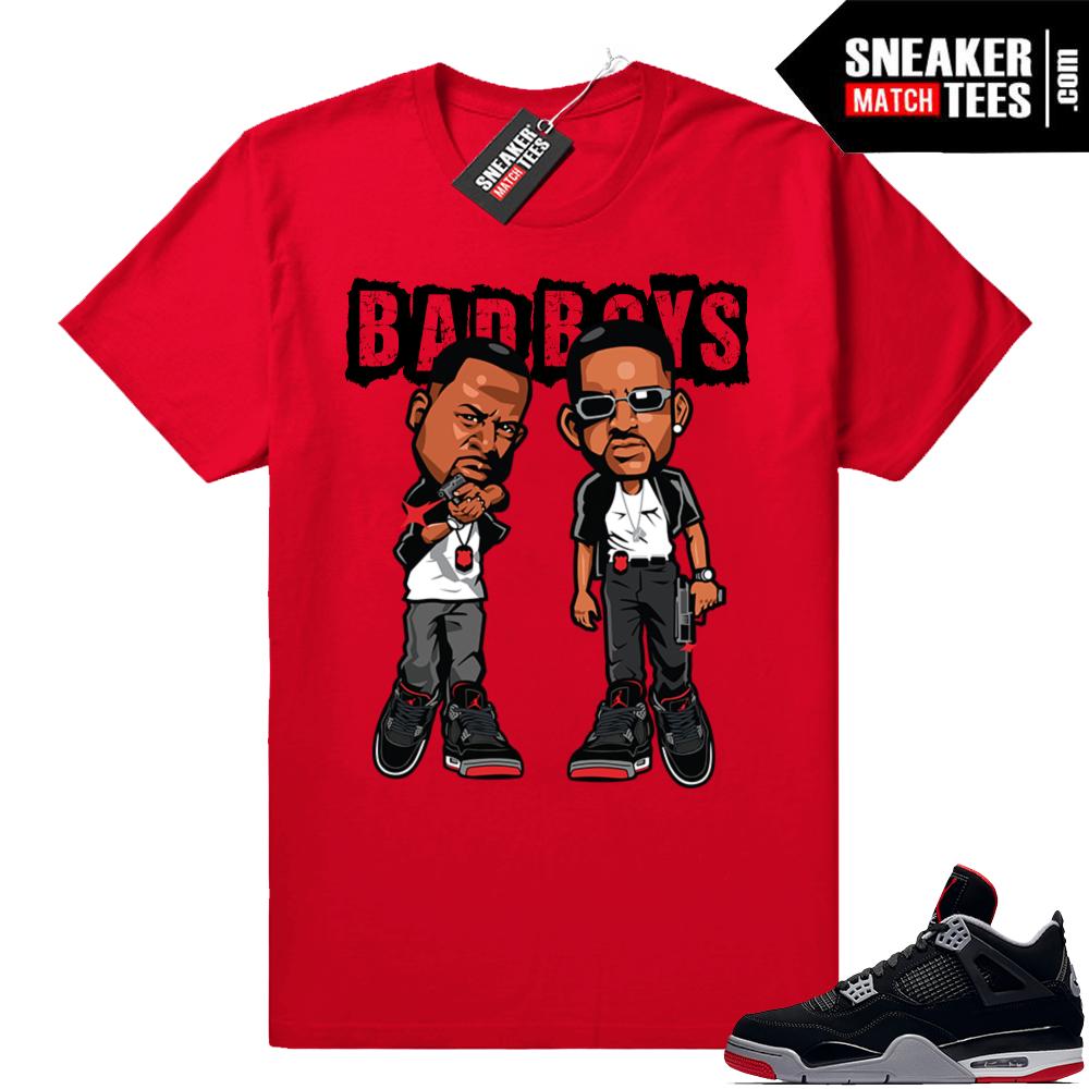 Bred Jordan 4 shirts