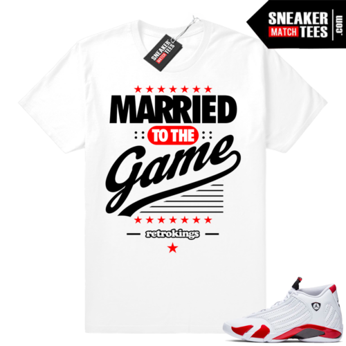 Candy Cane 14 Jordan sneaker tees