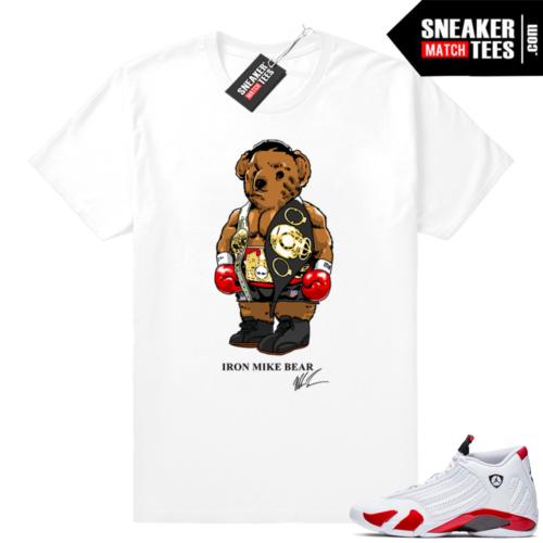 Candy Cane 14 Tyson Bear shirt