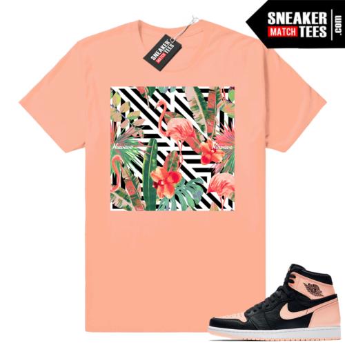 Jordan 1 Crimson tint shirts to match