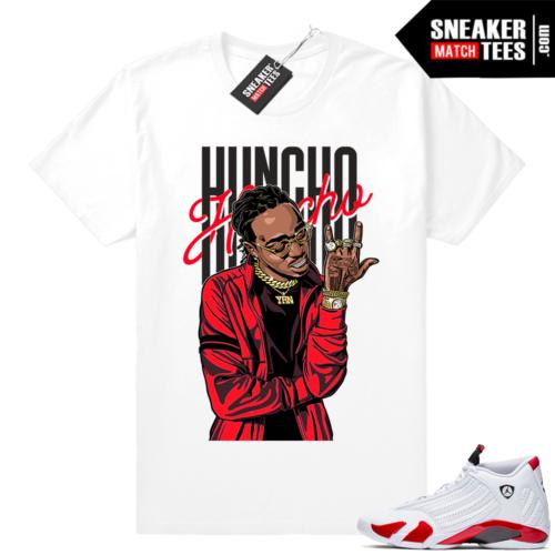 Jordan 14 tee shirts Candy Cane