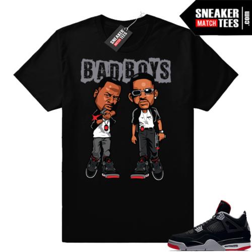 Jordan 4 Bred Bad Boys Tee